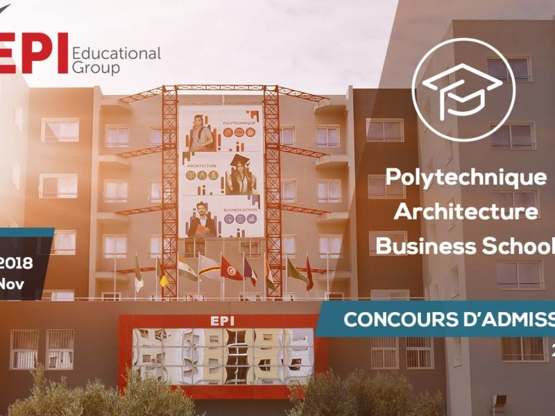 Admission à EPI 2018-2019