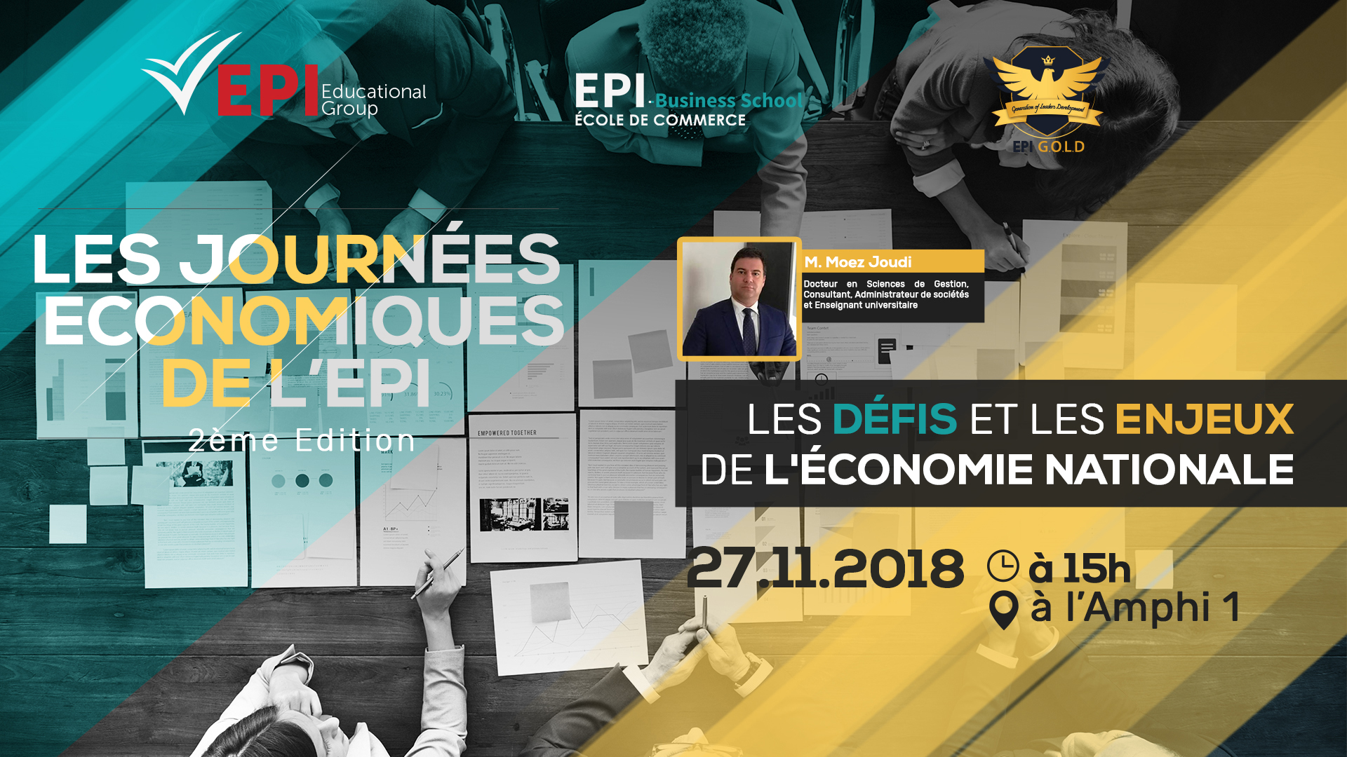 Journées Economiques de l'EPI