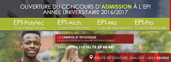 EPISSOUSE | Ecole Pluridisciplinaire Internationale | Concours & Admission