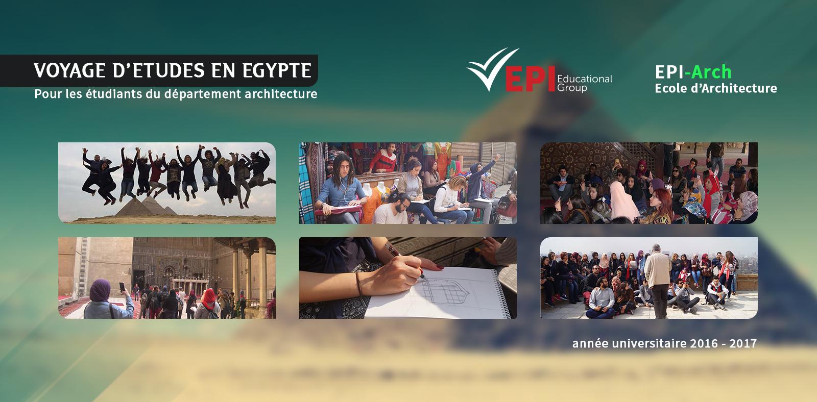Voyage d'études Egypte