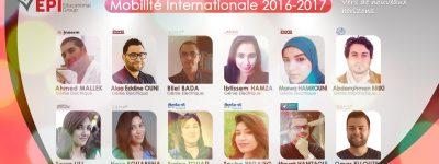 Mobilité Internationale 2016-2017