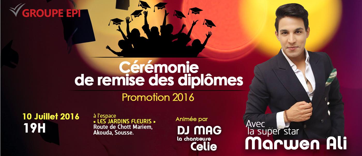 Med Ali Cérémoni diplome