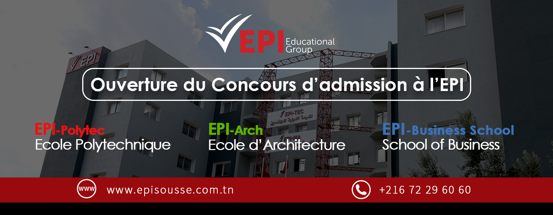 Concours d'admission